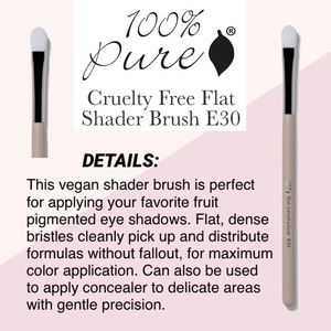 100% PURE: Flat Shader Brush E30